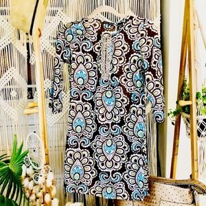 NWOT 3/4 Sleeve Embellished Tunic Top